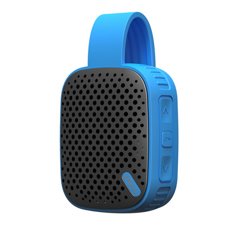 DOSS DS-1362 Outdoor Bluetooth Speaker Wireless Music Box for Bicycling-BLUE