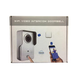 Wireless Video Doorbell with Two Way Intercom and Remotely Unlock Door Camera