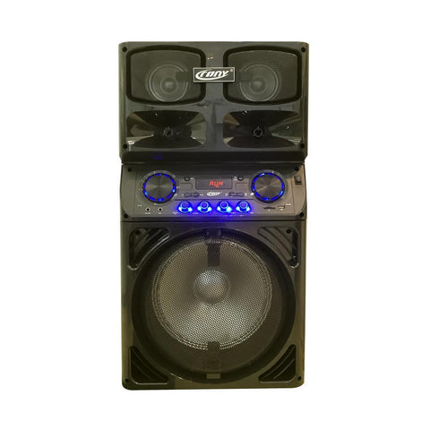 CRONY CN-2015 new amplifier speaker with color light