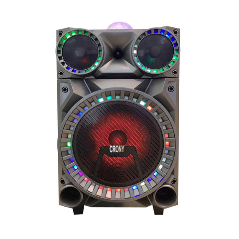 CRONY  CN-688DK new amplifier speaker with color light