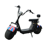 Big Harley BTSpeaker tyre Double Seat New style Harley 1000W 2-wheel electric scooter motorcycle