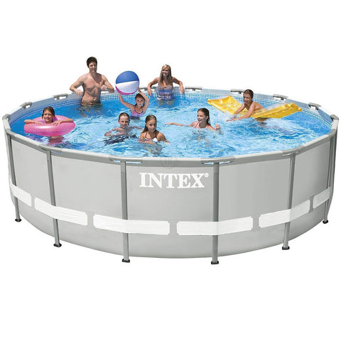 Ultra Frame Pool with pump filter 549 х 132 cm Intex 28336 Swimming pool - edragonmall.com