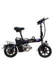 R9 Electric Bike - Perfect Substitute Of Auto - Black Ebike - edragonmall.com