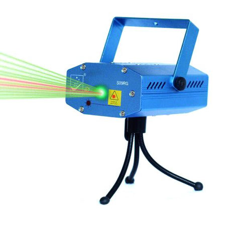Las-s09rg Mini Laser Disco Dj Stage Lighting Patterns Projector Lights S09rg Sd-09