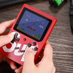 Sup Game Box 400 in 1 Plus Gaming console Double gaming machine 3 inch Retro game Gaming console Classic FC USB charging Birthday gift for kids -BLACK