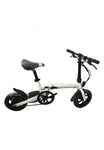 R10 Electric Bike - Perfect Substitute of Auto E-bike - White Ebike - edragonmall.com