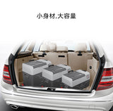CX30  Quart(30L) Portable Refrigerator Freezer, Mobile Fridge Car Refrigerator with Trolley and Wheels-With battery