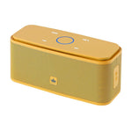 Crony Wireless Bluetooth KINGONE Classical speaker/audio/sound,F8 YELLOW - edragonmall.com