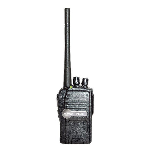 Crony Professional Walkie Talkies, Portable Two Way Radio, 400~470MHz Midland Walkie Talkie PT-558 -Black - edragonmall.com