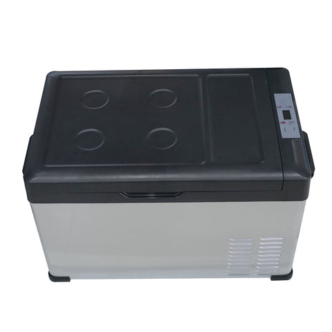 12 Volt Portable 30l Car Fridge Freezer Outdoor Camp 12v Boat Cooler Home Use! - edragonmall.com