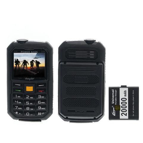 Hope S16 SIM mobile phone (20000mAh) power bank battery - edragonmall.com