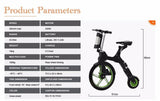 ebike 36V 250W MINI Q Folding Electric Bike Bicycle 18'' 8'' Wheel scooter