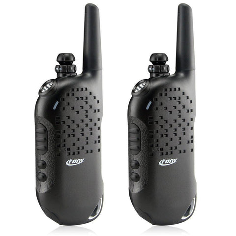 Crony CY-998 Two Way Radio Walkie Talkie (Black) Set of 2 - edragonmall.com