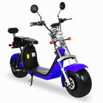 Harley tyre Double Seat with double battery Rugged 48V 1000W Electric Fat Tire Electric motorcycle
