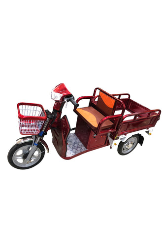 Old age scooter Pull cargo climbing electric tricycle E-bike - edragonmall.com