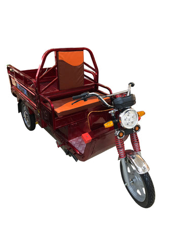 Old age scooter Pull cargo climbing electric tricycle E-bike- 3 - edragonmall.com