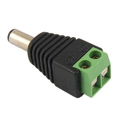 BNC Male Power Connector (Pack of 5)