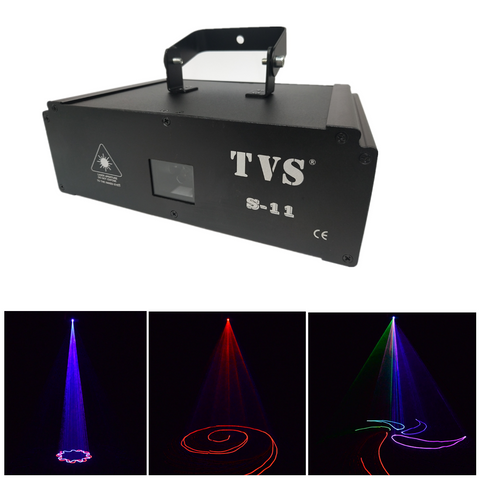 S-11 1W RGB LED Laser Landscape Projector Lamp Disco Stage Party Effect Light Chriatmas