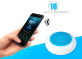 NOBLECROWN Colorful Bluetooth Speaker-A6-BLUE