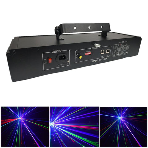 VS-958 Stage Laser Projector High Quality  RGB Colorful Laser Lights For Party Christmas Decoration