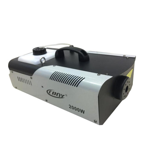 2000 Watt Smoke Machine, Wireless Remote Contral Fog Machine for Party Live Wedding Concert DJ Bar KTV Stage Effect