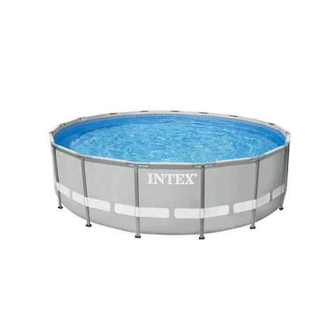 Intex 26324 Former 28324 Above Ground Frame Round Pool Ultra Frame 488x122cm Swimming pool - edragonmall.com