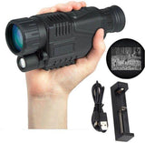 Handheld Digital Night Vision Monocular Camera with Record Video, Snap Images, LCD Display - edragonmall.com