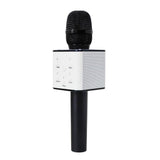 Q7 Portable Wireless Karaoke Bluetooth Microphone Speaker-black