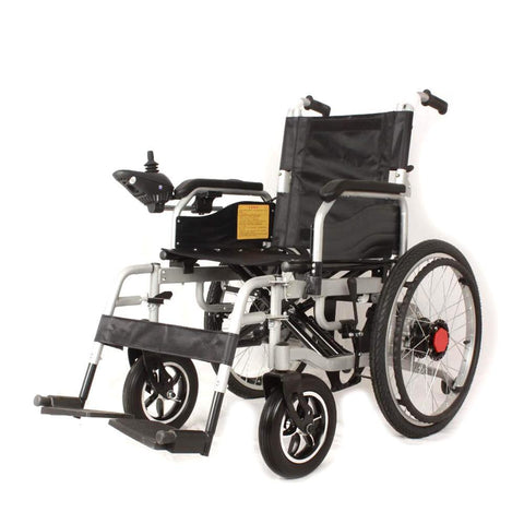 CN-6002 Electrically propelled wheelchair Portable Elderly Automatic Medical Scooter Manual/Electric Switching-Black