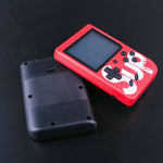 Sup Game Box 400 in 1 Plus with Arabic Portable Mini  Retro Handheld Game Console 3.0 Inch Kids Game Player -Red