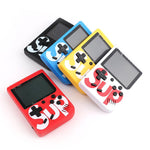 Sup Game Box 400 in 1 Plus with Arabic Portable Mini  Retro Handheld Game Console 3.0 Inch Kids Game Player -Blue