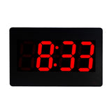 Simple Digital Wall Clock with Led Alarm Clock, Shows Calendar Month Day -Jh2316
