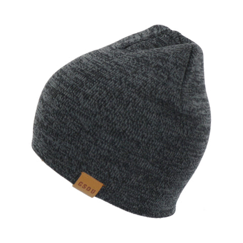 Gsou Snow Beanie Cap - Soft Knit Beanie Hat - Warm and Durable