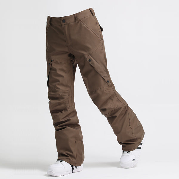 Gsou Snow Mountains Challenge Men's Winter Outdoor Snowboard Pants