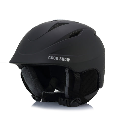 Gsou Snow Ski Helmet,Integrally Windproof Lightweight Professional Outdoors Snowboards Snow Sports Helmet
