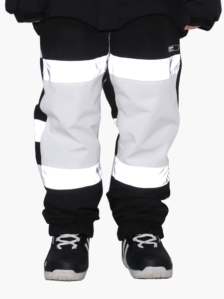 Unisex 2021 Waterproof And Warm Single And Double Board Luminous Color Matching Snow Pants