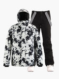 Ski suit windproof, waterproof, warm, adult snow town tourism equipment, single-board and double-board men's suit