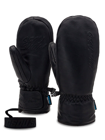 New Sheepskin Wear-Resistant And Waterproof Ski Gloves For Men And Women
