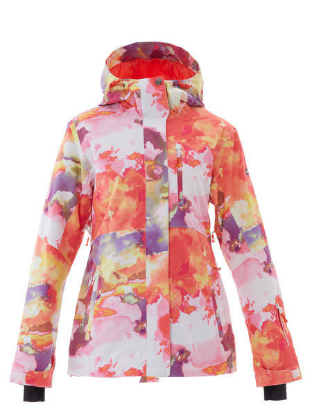 Colorful Ski Jackets 10K Waterproof Windproof Colorful Snowboard Jacket