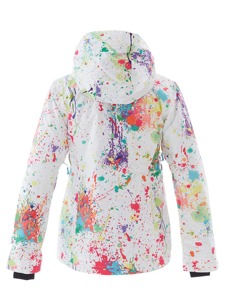 Women's Colorful 10K Waterproof and Windproof Ski/Snowboard Jacket.YKK® Zip