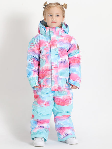 Kids One Piece  Snowboard Suit 20K Waterproof&Windproof Ski Suit