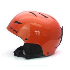Gsou Snow 2018 Pure color series Fornix Backcountry MIPS Ski Helmet, Vibrant orange, Medium/Large