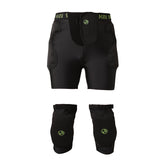 Gsou Snow Board & Ski Impact Protection Compression Shorts