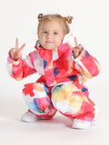 Colorful Cloud Kids One Piece Snowboard Suit Waterproof Windproof Ski Suit