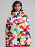 Women's 10K Waterproof and Windproof Colorful Snowboard/Ski Jackets