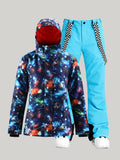 Winter women's suits, ski suits, machine washable YKK® zipper3