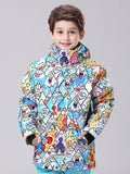 10K Windproof&Waterproof Multi-color Waterproof&Windproof Kids Snowboard Jackets Ski Jackets Warm Coat