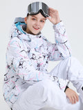 Colorful Womens Ski/Snowboard Jacket 5K Windproof and Waterproof