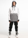 Fashion Men's Snowboard Suits Ski Jacket & Pants Set