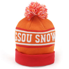 Gsou Snow Winter knit Ski Hats Stretchy & Soft Beanies for Kids